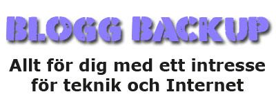 Blogg Backup